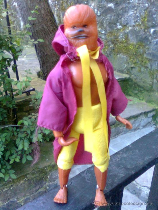 Figuras y Muñecos Mego: ¡ Joya 10 ! - Era Mego - Casa tomland - Serie Star Raiders - Flash (Chewaka) -1977- - Foto 4 - 166120764