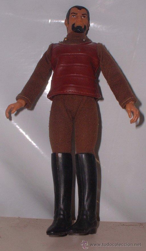 MUÑECO MEGO STAR TREK, GUERRERO KLINGON, AÑO 1974 ( GA-62 ) CC (Juguetes - Figuras de Acción - Mego)