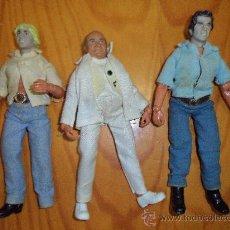 Figuras y Muñecos Mego: MEGO 1975, LOTE COMPLETO FIGURAS DE LA SERIE DE TELEVISIÓN EL SHERIFF CHIFLADO, AKA DUKES OF HAZZARD. Lote 29376320