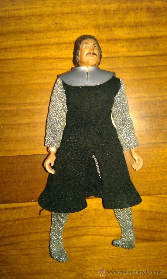 Figuras y Muñecos Mego: Lote figuras años 70 Mego. caballero negro, rey Arturo, Buffalo Bill, Will scarlett - Foto 8 - 34101940