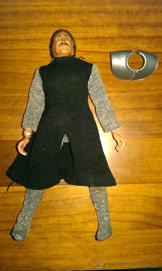 Figuras y Muñecos Mego: Lote figuras años 70 Mego. caballero negro, rey Arturo, Buffalo Bill, Will scarlett - Foto 11 - 34101940