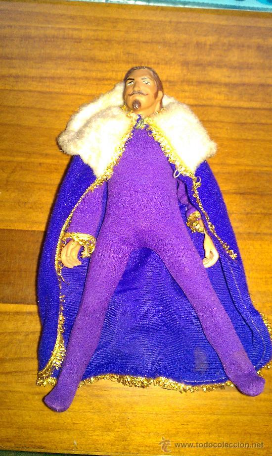 Figuras y Muñecos Mego: Lote figuras años 70 Mego. caballero negro, rey Arturo, Buffalo Bill, Will scarlett - Foto 12 - 34101940
