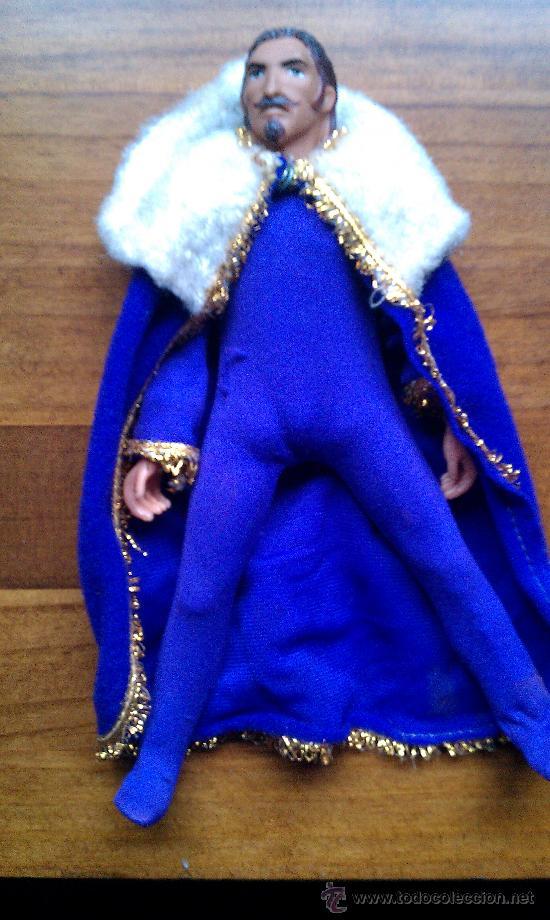 Figuras y Muñecos Mego: Lote figuras años 70 Mego. caballero negro, rey Arturo, Buffalo Bill, Will scarlett - Foto 13 - 34101940
