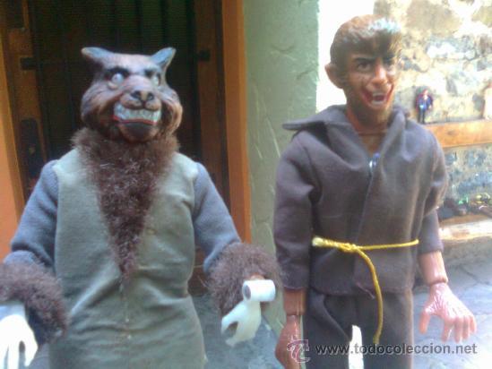 Figuras y Muñecos Mego: Figura de leyenda - Era Mego - Casa Lincoln international - El Hombre Lobo (1974) - ver - Foto 12 - 38117003