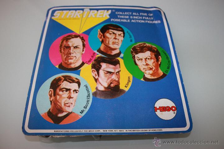 Figuras y Muñecos Mego: Star Trek Mr. Spock - Año 1974 - Mego - 1era Edición - Blister con 5 personajes dibujados - Foto 4 - 47239957