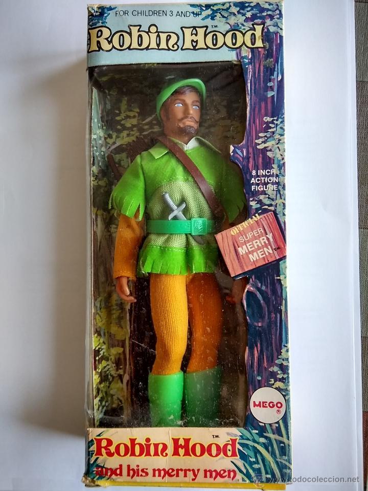 MEGO ROBIN HOOD - AÑO 1974 - ORIGINAL DE ÉPOCA - A ESTRENAR (Juguetes - Figuras de Acción - Mego)