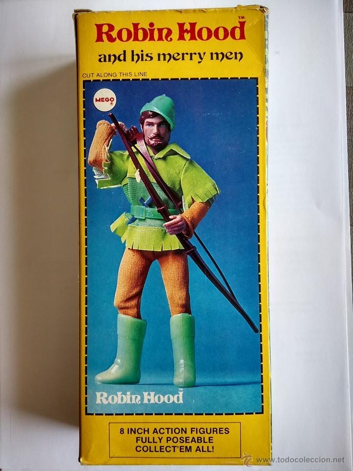 Figuras y Muñecos Mego: Mego Robin Hood - Año 1974 - Original de Época - A Estrenar - Foto 2 - 47425689