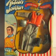 Figuras y Muñecos Mego: TRAJE MEGO ACTION JACKSON AIR FORCE, REF 1102, AÑOS 70, EN CAJA. CC. Lote 47844959
