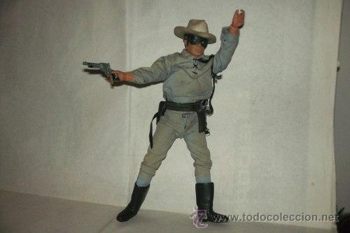 Figuras y Muñecos Mego: El Llanero Solitario The Lone Ranger 26 Cm Mego 1973 Articulado 26 cm. - Foto 2 - 51321975