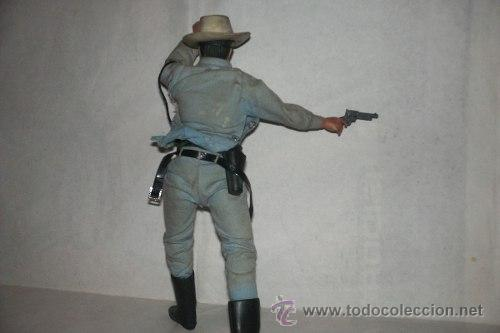 Figuras y Muñecos Mego: El Llanero Solitario The Lone Ranger 26 Cm Mego 1973 Articulado 26 cm. - Foto 3 - 51321975