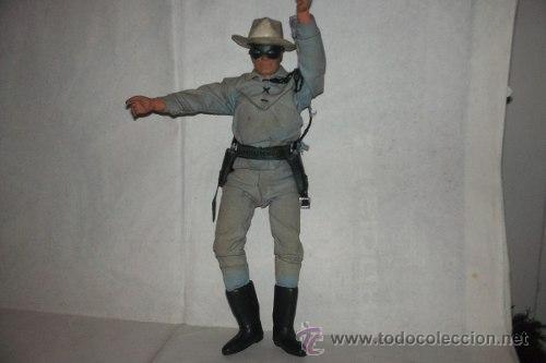 Figuras y Muñecos Mego: El Llanero Solitario The Lone Ranger 26 Cm Mego 1973 Articulado 26 cm. - Foto 4 - 51321975