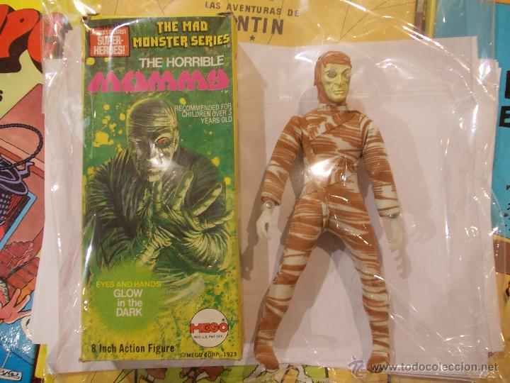 LA MOMIA-MEGO-MAD MONSTER SERIES-1ª EDICION ORIGINAL CON CAJA-IMPECABLE-THE MUMMY (Juguetes - Figuras de Acción - Mego)