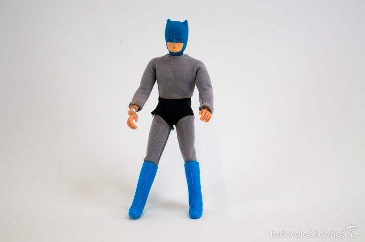 FIGURA VINTAGE BATMAN MEGO 1974 - (20CM) INCOMPLETO ¡¡VER FOTOS!! (Juguetes - Figuras de Acción - Mego)