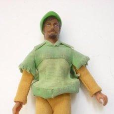 Figuras y Muñecos Mego: ROBIN HOOD. MUÑECO ARTICULADO MARCA MEGO. ORIGINAL. AÑOS 1970S. Lote 57384088
