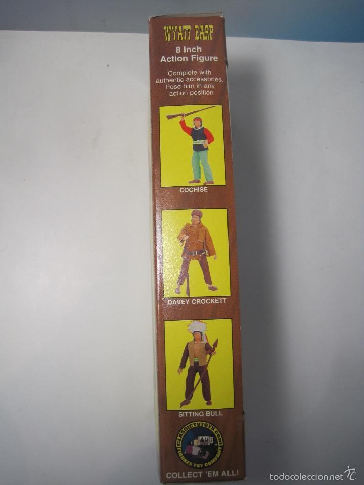Figuras y Muñecos Mego: WYATT EARP FIGURA REPRO DE MEGO DEL MITICO PISTOLERO - Foto 6 - 57542154
