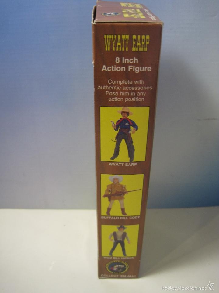 Figuras y Muñecos Mego: WYATT EARP FIGURA REPRO DE MEGO DEL MITICO PISTOLERO - Foto 7 - 57542154