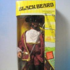 Figuras y Muñecos Mego: PIRATA BARBA NEGRA- BLACK BEARD REEDICION DE LOS MITICOS MEGOS DE LOS AÑOS 70 NUEVO EN CAJA. Lote 57899725