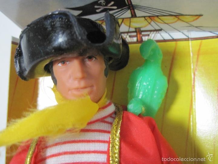 Figuras y Muñecos Mego: PIRATA LONG JOHN SILVER REEDICION DE MEGO NUEVO EN CAJA - Foto 2 - 58072885