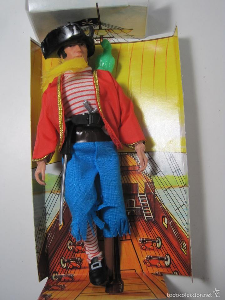 Figuras y Muñecos Mego: PIRATA LONG JOHN SILVER REEDICION DE MEGO NUEVO EN CAJA - Foto 3 - 58072885