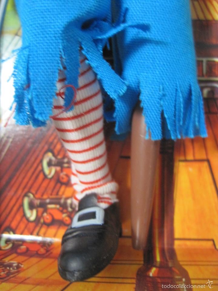 Figuras y Muñecos Mego: PIRATA LONG JOHN SILVER REEDICION DE MEGO NUEVO EN CAJA - Foto 4 - 58072885