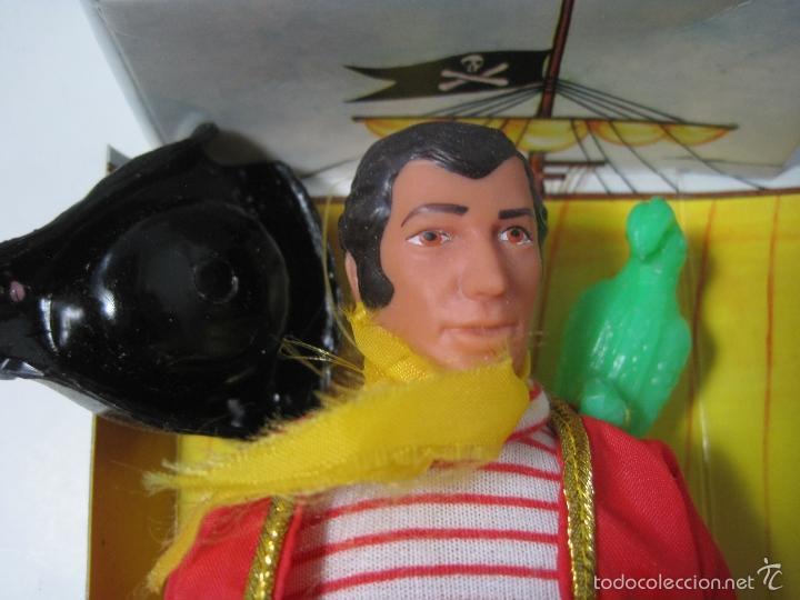 Figuras y Muñecos Mego: PIRATA LONG JOHN SILVER REEDICION DE MEGO NUEVO EN CAJA - Foto 5 - 58072885