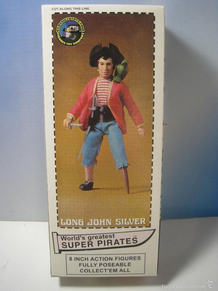 Figuras y Muñecos Mego: PIRATA LONG JOHN SILVER REEDICION DE MEGO NUEVO EN CAJA - Foto 8 - 58072885