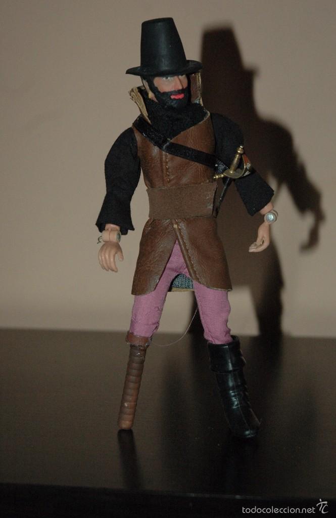 Figuras y Muñecos Mego: Mego capitan pirata. Compatible con Madelman MDE - Foto 2 - 58273133