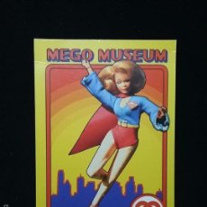 Figuras y Muñecos Mego: TRADING CARD - MEGO MUSEUM - SUPERGIRL - Nº 23. Lote 58740548
