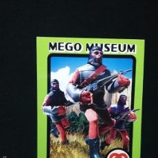 Figuras y Muñecos Mego: TRADING CARD - MEGO MUSEUM - SOLDIER APE - Nº 55. Lote 58740988
