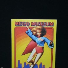 Figuras y Muñecos Mego: TRADING CARD - MEGO MUSEUM - SUPERGIRL - Nº 23. Lote 58741131
