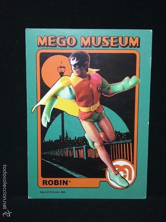 TRADING CARD - MEGO MUSEUM - ROBIN - Nº 16 (Juguetes - Figuras de Acción - Mego)