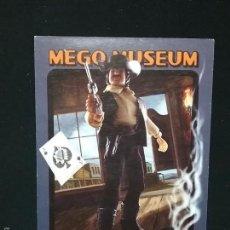 Figuras y Muñecos Mego: TRADING CARD - MEGO MUSEUM - WILD BILL HICKOK - Nº 90. Lote 58741316