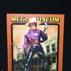 Figuras y Muñecos Mego: TRADING CARD - MEGO MUSEUM - WYATT EARP - Nº 89. Lote 58741356