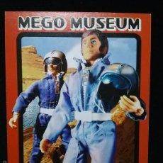 Figuras y Muñecos Mego: TRADING CARD - MEGO MUSEUM - ASTRONAUT - Nº 53. Lote 58741592
