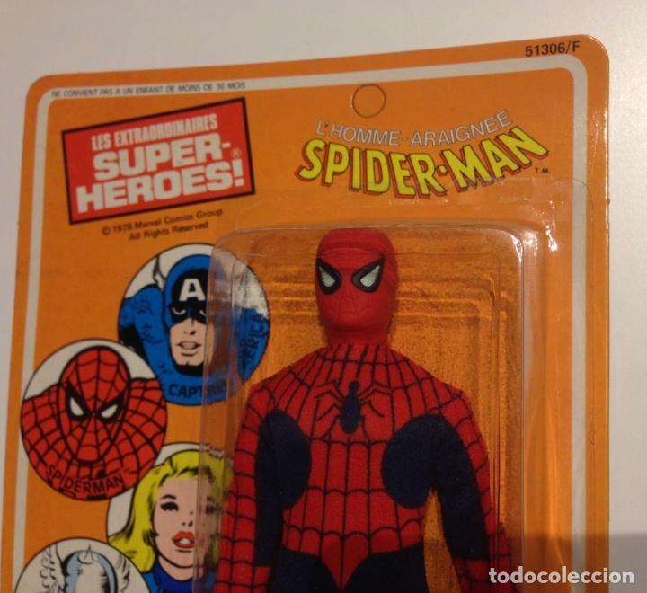 Figuras y Muñecos Mego: MEGO SPIDERMAN ORIGINAL 1978 versión venta en Francia. MIB - Foto 7 - 63316071