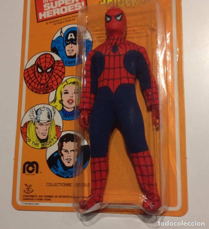 Figuras y Muñecos Mego: MEGO SPIDERMAN ORIGINAL 1978 versión venta en Francia. MIB - Foto 8 - 63316071