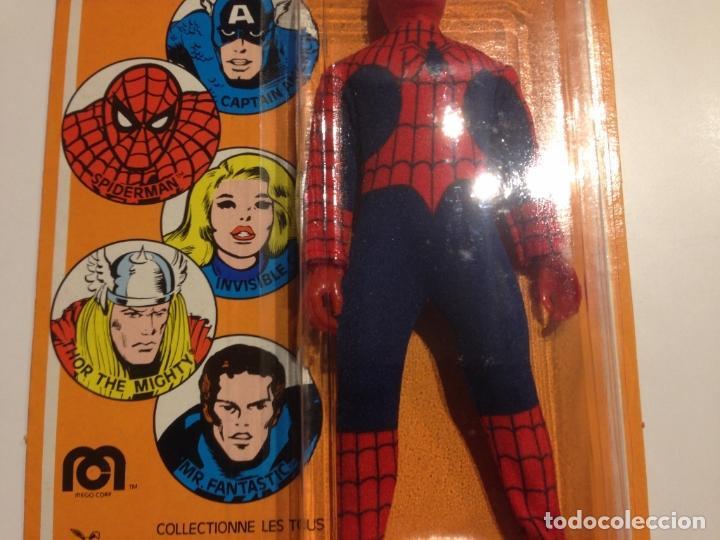 Figuras y Muñecos Mego: MEGO SPIDERMAN ORIGINAL 1978 versión venta en Francia. MIB - Foto 10 - 63316071