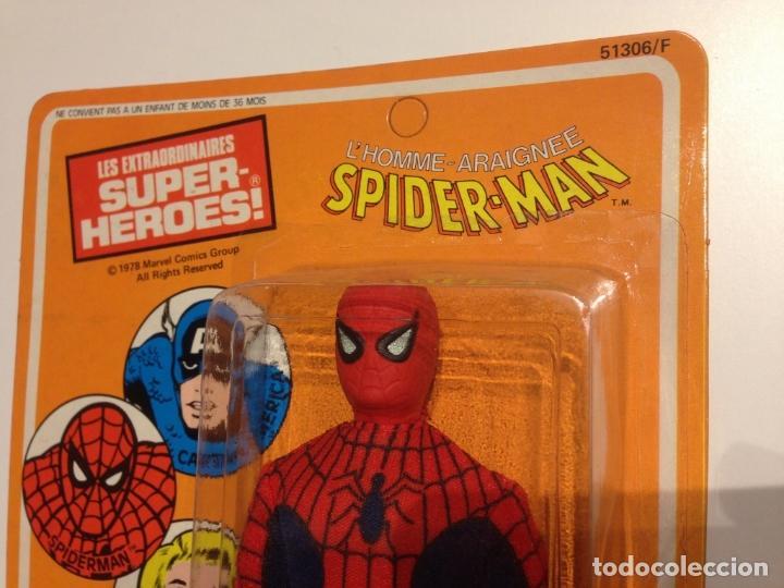 Figuras y Muñecos Mego: MEGO SPIDERMAN ORIGINAL 1978 versión venta en Francia. MIB - Foto 11 - 63316071