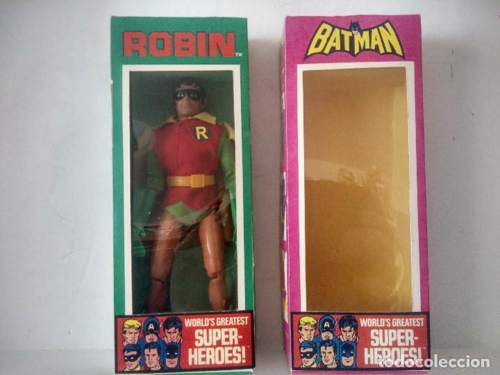 MEGO BATMAN Y ROBIN (Juguetes - Figuras de Acción - Mego)