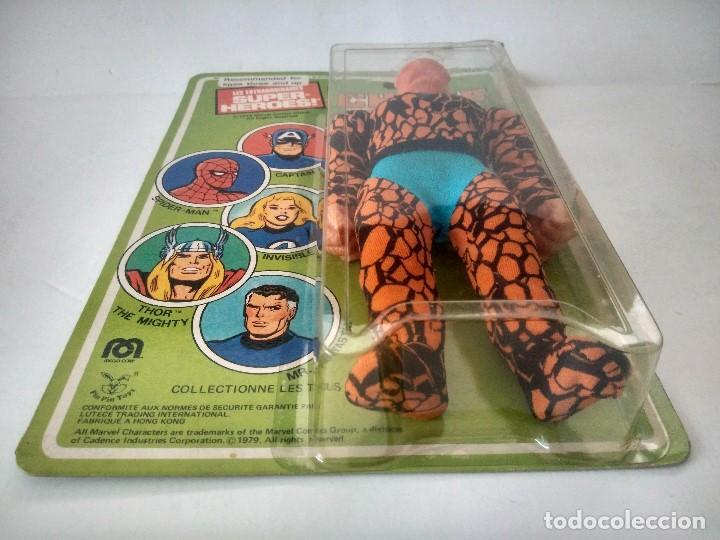 Figuras y Muñecos Mego: Mego La Cosa The Thing Cuatro 4 Fantasticos a Estrenar de Juguetería estilo Madelman - Foto 4 - 69680673
