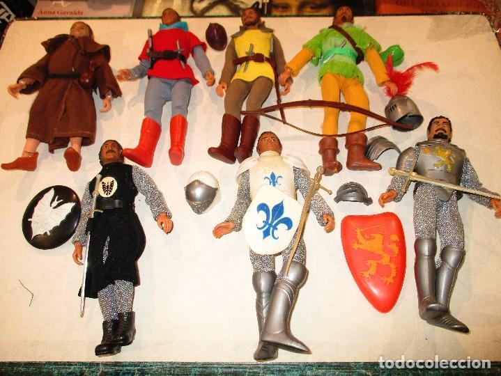 Figuras y Muñecos Mego: COLECCION ROBIN HOOD + COLECCION CABALLEROS MESA REDONDA-MEGO ORIGINALES AÑOS 70- - Foto 6 - 72889887