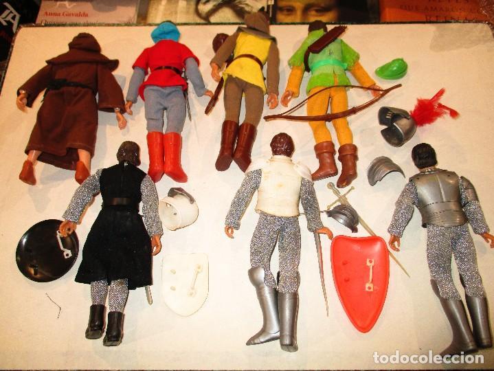 Figuras y Muñecos Mego: COLECCION ROBIN HOOD + COLECCION CABALLEROS MESA REDONDA-MEGO ORIGINALES AÑOS 70- - Foto 7 - 72889887