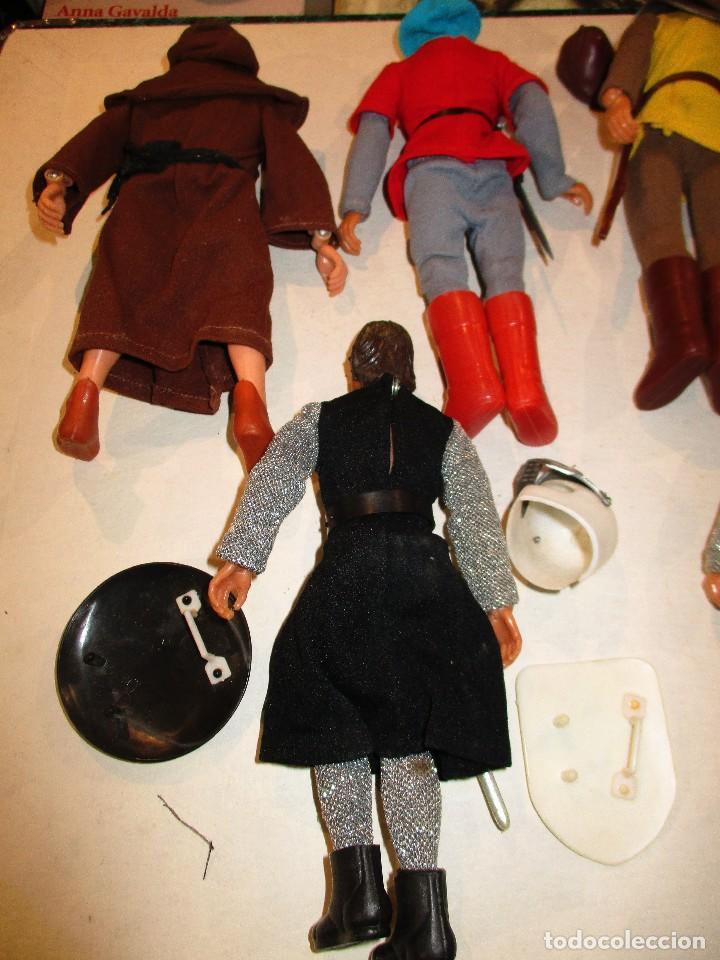 Figuras y Muñecos Mego: COLECCION ROBIN HOOD + COLECCION CABALLEROS MESA REDONDA-MEGO ORIGINALES AÑOS 70- - Foto 8 - 72889887