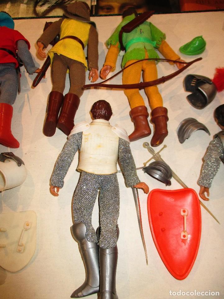 Figuras y Muñecos Mego: COLECCION ROBIN HOOD + COLECCION CABALLEROS MESA REDONDA-MEGO ORIGINALES AÑOS 70- - Foto 9 - 72889887