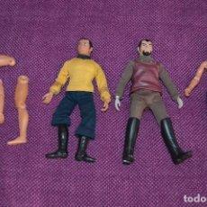 Figuras y Muñecos Mego: LOTE DE 3 FIGURAS Y EXTREMIDADES - STAR TREK - MEGO CORP - 1974 - PARAMOUNT - ¡¡HAZME UNA OFERTA!!. Lote 83660924