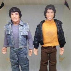 Figuras y Muñecos Mego: MUÑECOS DE LA SERIE WELCOME BACK KOTTER CON JOHN TRAVOLTA MATTEL 2TIPO MEGO 70S. Lote 87411412