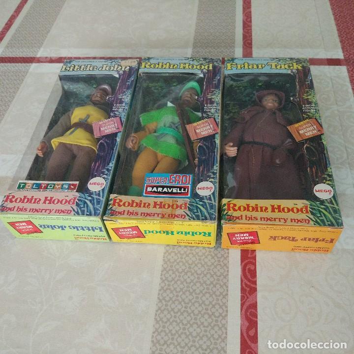 Figuras y Muñecos Mego: GRAN PRECIO !! MEGO ROBIN HOOD AND HIS MERRY MEN C-10 Vertice no madelman - Foto 2 - 99329899