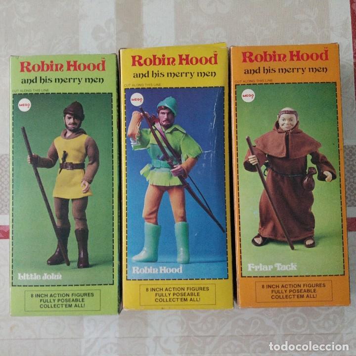 Figuras y Muñecos Mego: GRAN PRECIO !! MEGO ROBIN HOOD AND HIS MERRY MEN C-10 Vertice no madelman - Foto 6 - 99329899
