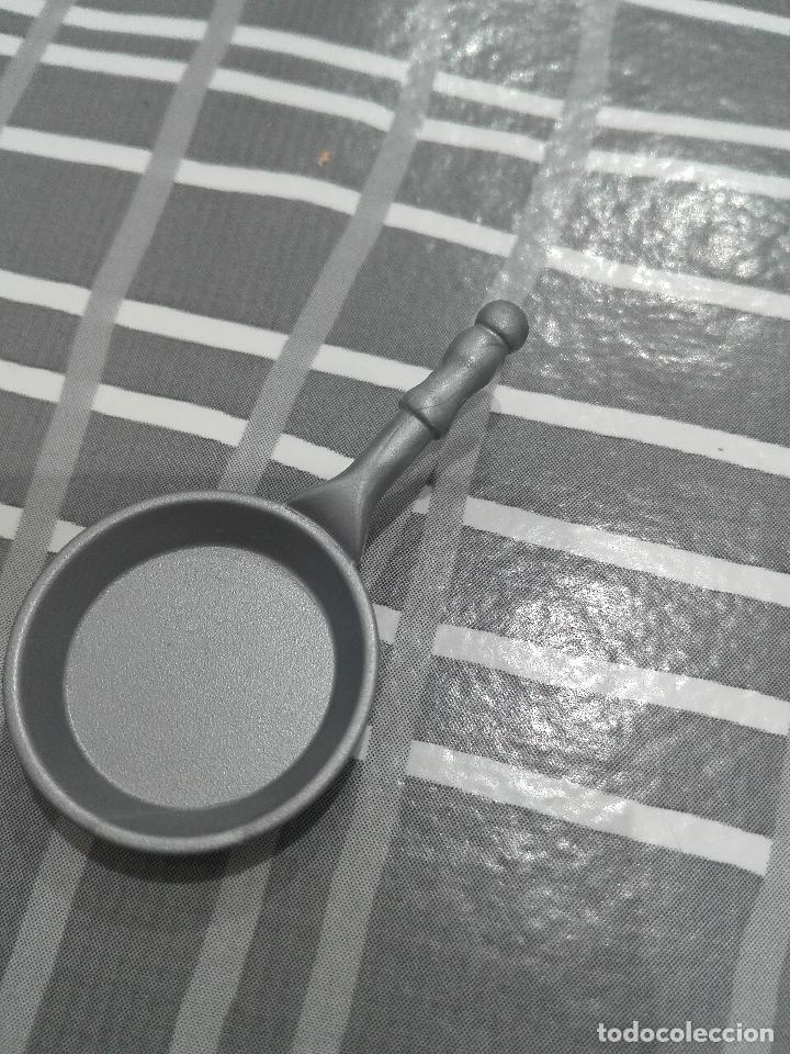 PLAYMOBIL SARTEN (Juguetes - Figuras de Acción - Mego)