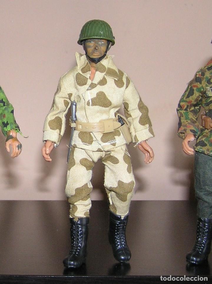 Figuras y Muñecos Mego: mego original soldado militar original primera generacion. Compatible con madelman - Foto 2 - 118989603